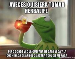 Kermit Drinking Tea meme