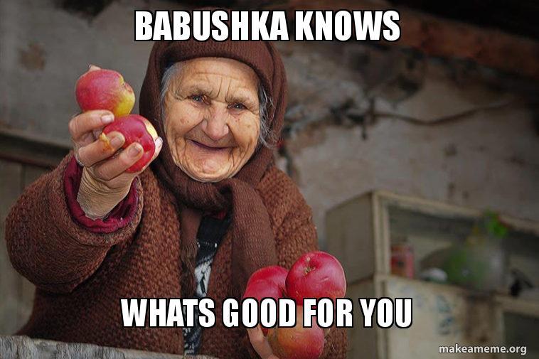 Image result for babushka meme
