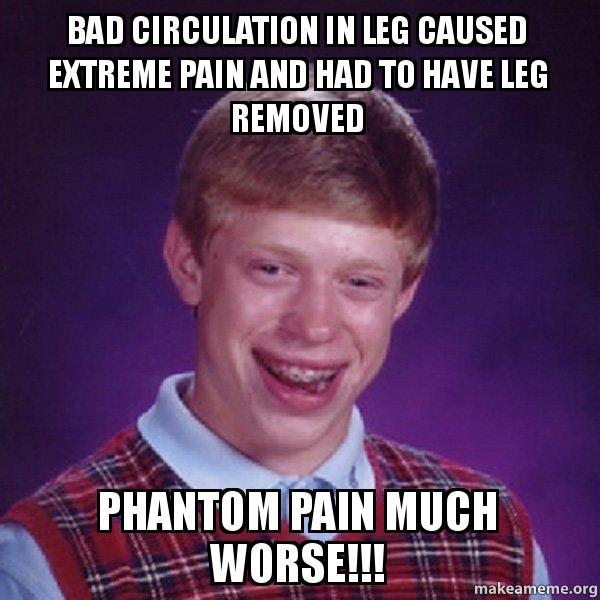 Bad Leg Circulation 108