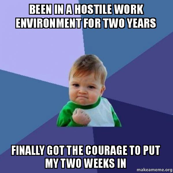 how to change a hostile work environment