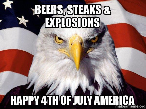 American Pride Eagle meme