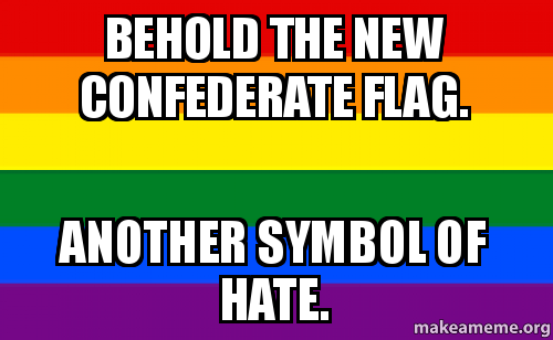 Behold the New Confederate Flag. Another Symbol of Hate. - | Make a ...