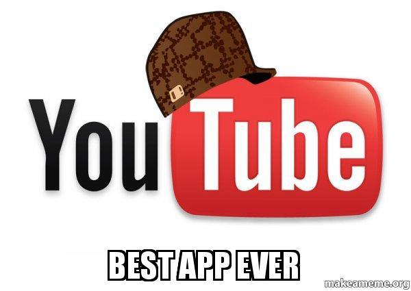 Scumbag YouTube meme