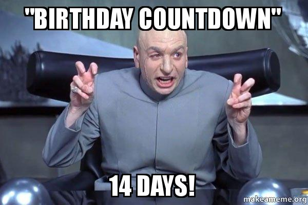 birthday countdown 14 birthday countdown\