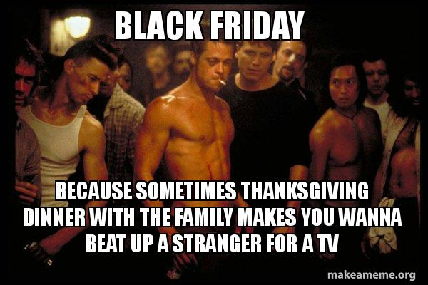 Fight Club Black Friday