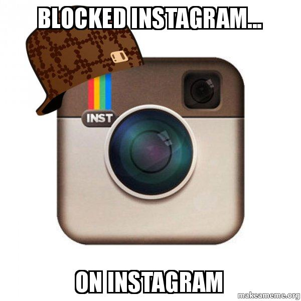 how to tell who blocked you on instagram
