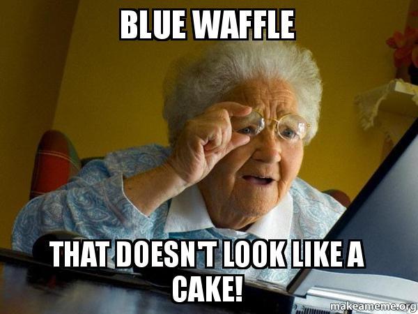 recipe: blue waffles meme [12]