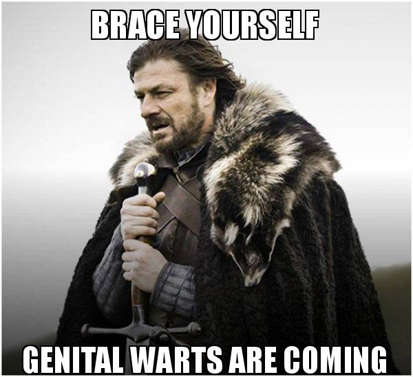 Male genital wart treatment