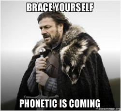 Bildergebnis für phonetic meme