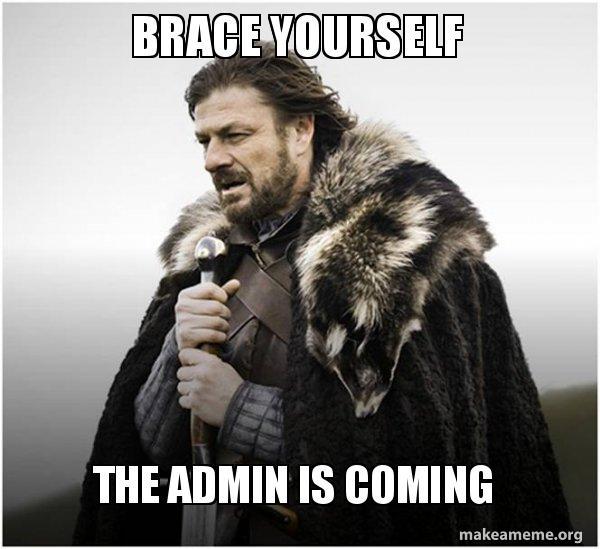 Image result for admin meme