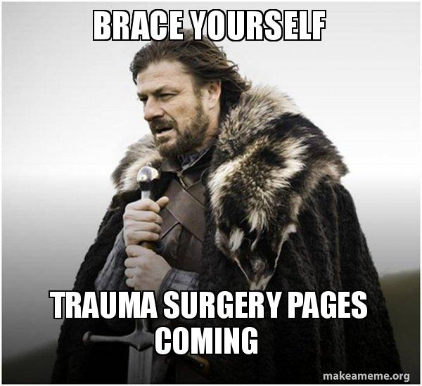 Brace yourself trauma surgery pages coming brace yourself game brace yourself game of thrones meme meme solutioingenieria Image collections