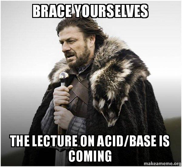 Brace yourselves the lecture on acidbase is coming brace yourself brace yourself game of thrones meme meme altavistaventures Choice Image