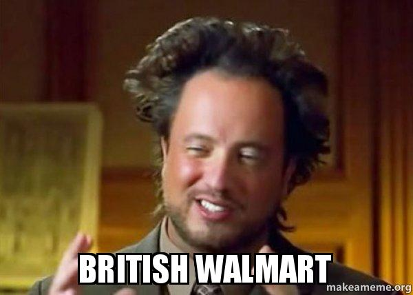 British WalMart - Ancient Aliens - Crazy History Channel Guy