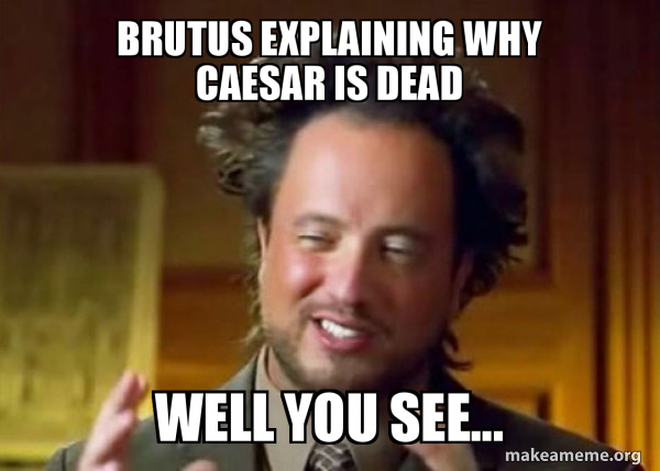 Ancient Aliens - Crazy History Channel Guy meme
