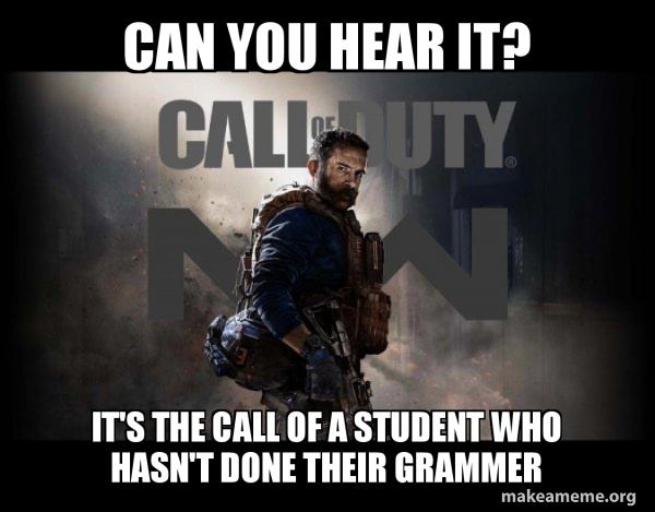 Call of Duty (COD) - Modern Warfare meme