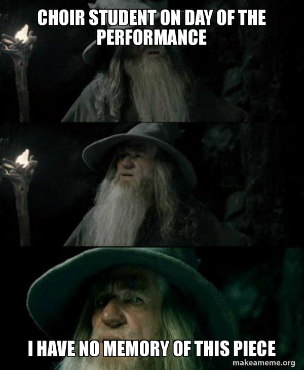 Confused Gandalf meme