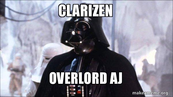 Clarizen Overlord AJ - AJ | Make a Meme