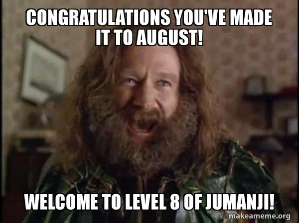 Robin Williams - What year is it? Jumanji meme