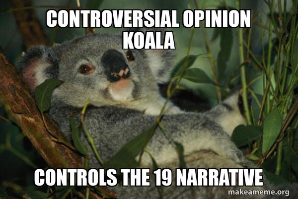 Laid Back Koala meme