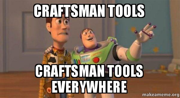 ... TOOLS EVERYWHERE - Buzz and Woody (Toy Story) Meme | Make a Meme
