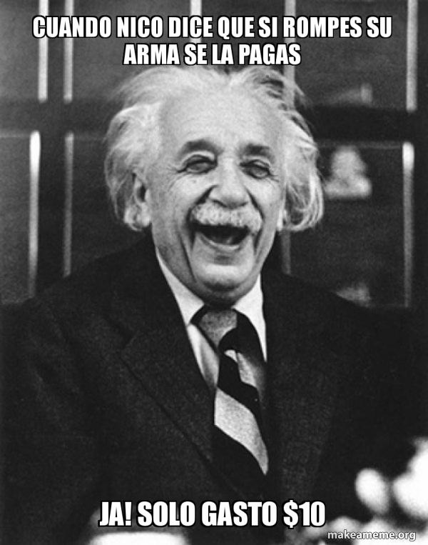 Laughing Albert Einstein meme