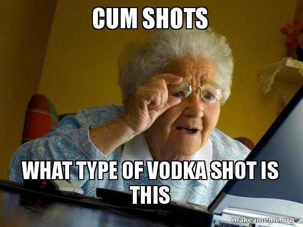 Senior cum shots