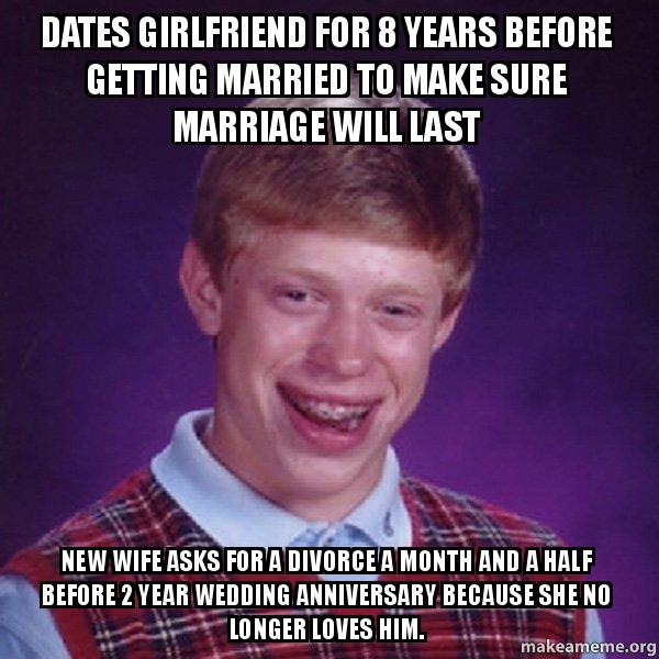 dating 3 years before marriage