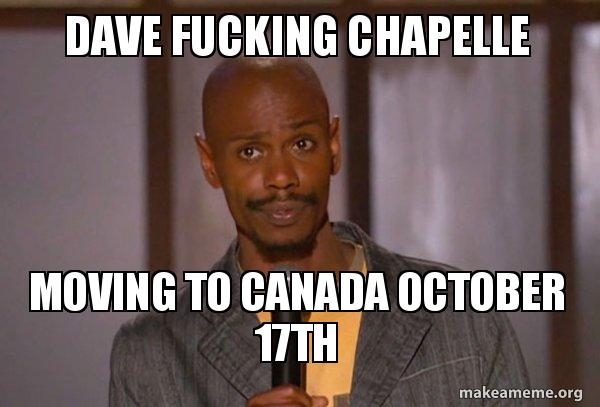 Consider, that dave chapelle skit fuck it with