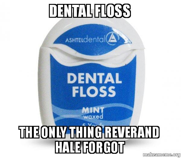 pin dental floss meme - photo #14