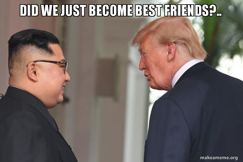 did we just 5b1f3f did we just become best friends? make a meme
