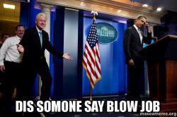 Are not bill clinton blow job