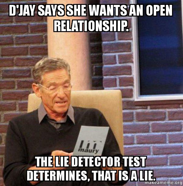 she wants an open relationship