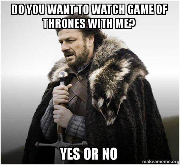 how do you watch game of thrones