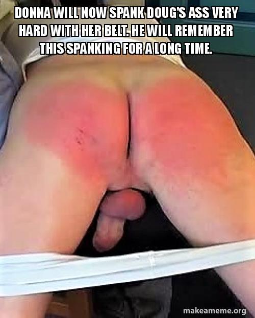 spank her ass hard