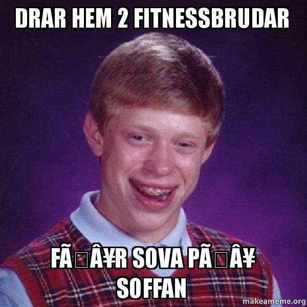 Fitnessbrudar