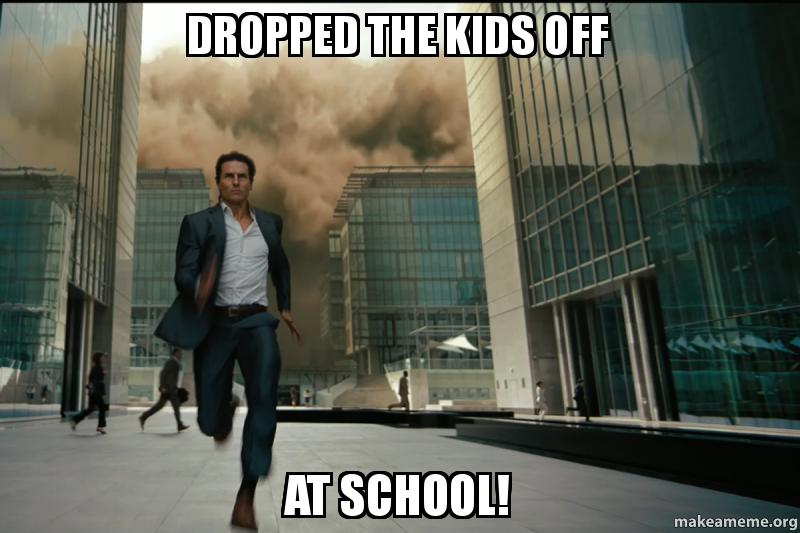 Dropped The Kids Off At School! - Parents First Day of