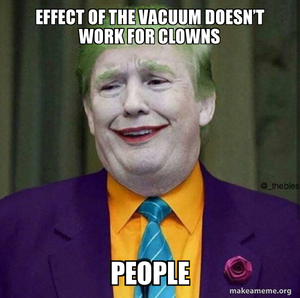 Donald Trump - The Joker meme