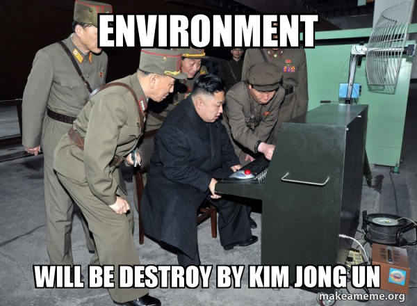 North Korea Not Scary meme