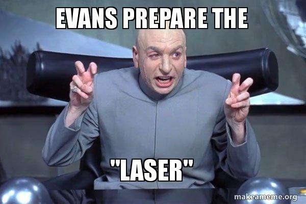Image result for prepare the laser austin powers