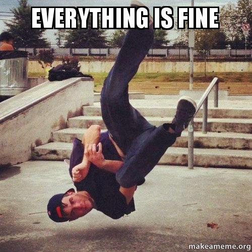 Everything is Fine -   Make a Meme