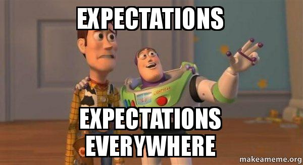 Expectations Everywhere Buzz And Woody Toy