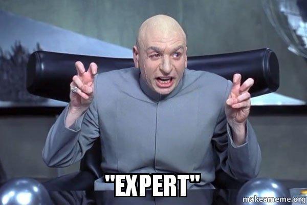 """Verte mi, som """"EXPERT""""!"""