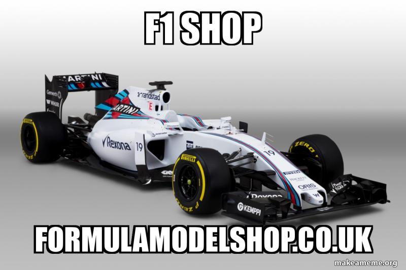 F1 Shop Formulamodelshop Co Uk F1 Shop Make A Meme