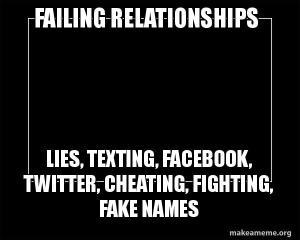 Texting relationships cheating