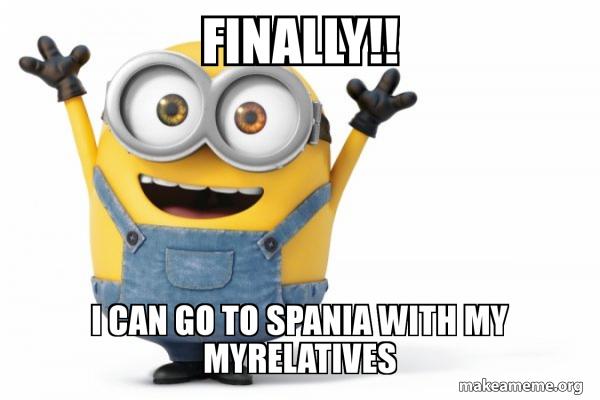 Happy Minion meme