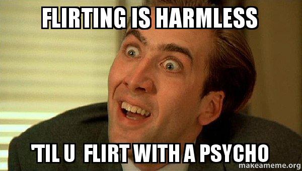 flirting memes sarcastic gif generator
