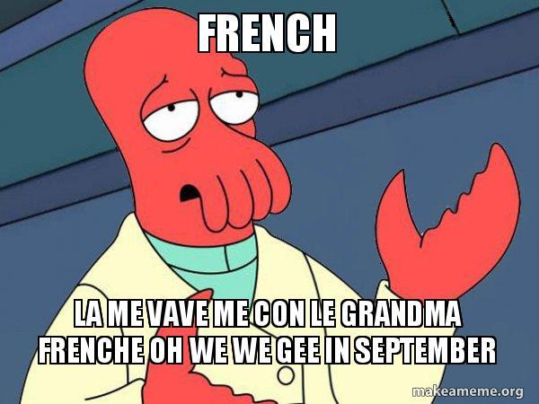 french la me frudfp french la me vave me con le grandma frenche oh we we gee in
