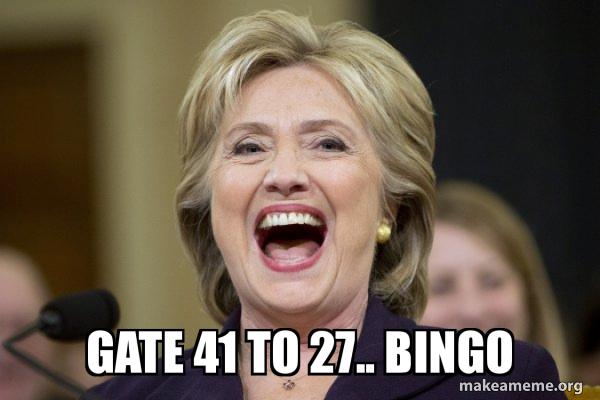 Hillary Clinton Laughs meme