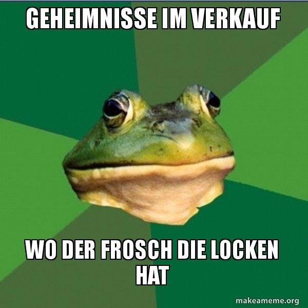 Geheimnisse Im Verkauf Wo Der Frosch Die Locken Hat Foul Bachelor