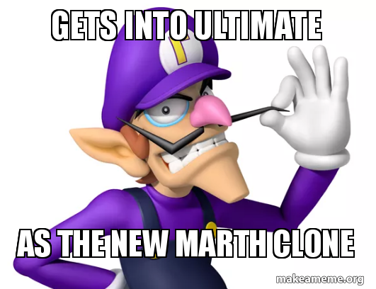 Gets into Ultimate As the new Marth clone | Make a Meme